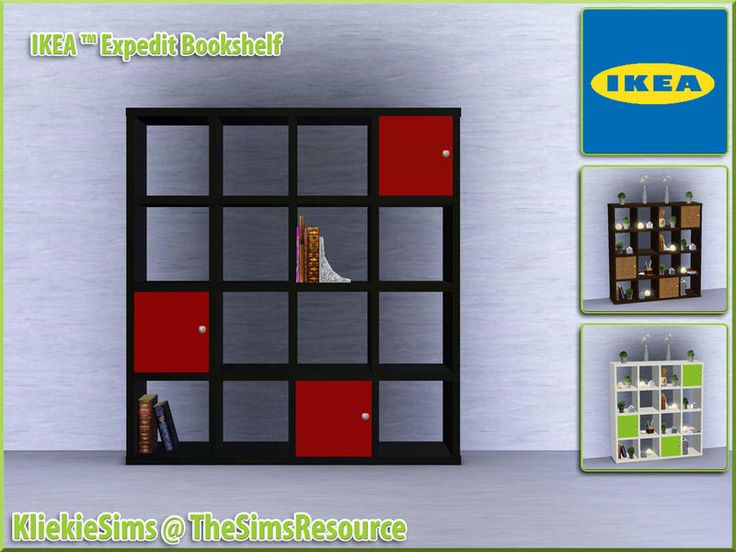 Ikea Expedit shelving inspiration