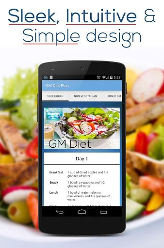 General Motors Diet or GM Diet as it is popularly known is World's No. 1 diet plan which helps you to lose upto 8 Kgs/ 16 Lbs in just 7 days. This amazing GM Diet Plan App will help you with the process.This GM Diet App gives a complete breakdown of the foods to eat on all the 7 days for Breakfast, Lunch, Dinner and Snacking.------------------Why GM DIET works? - You are eating foods that burn calories - The calorific intake from foods is very less when compared to ...