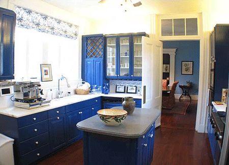 Best 25 Blue Kitchen Ideas Ideas On Pinterest  Blue Kitchen Pleasing Blue Kitchen Design 2018