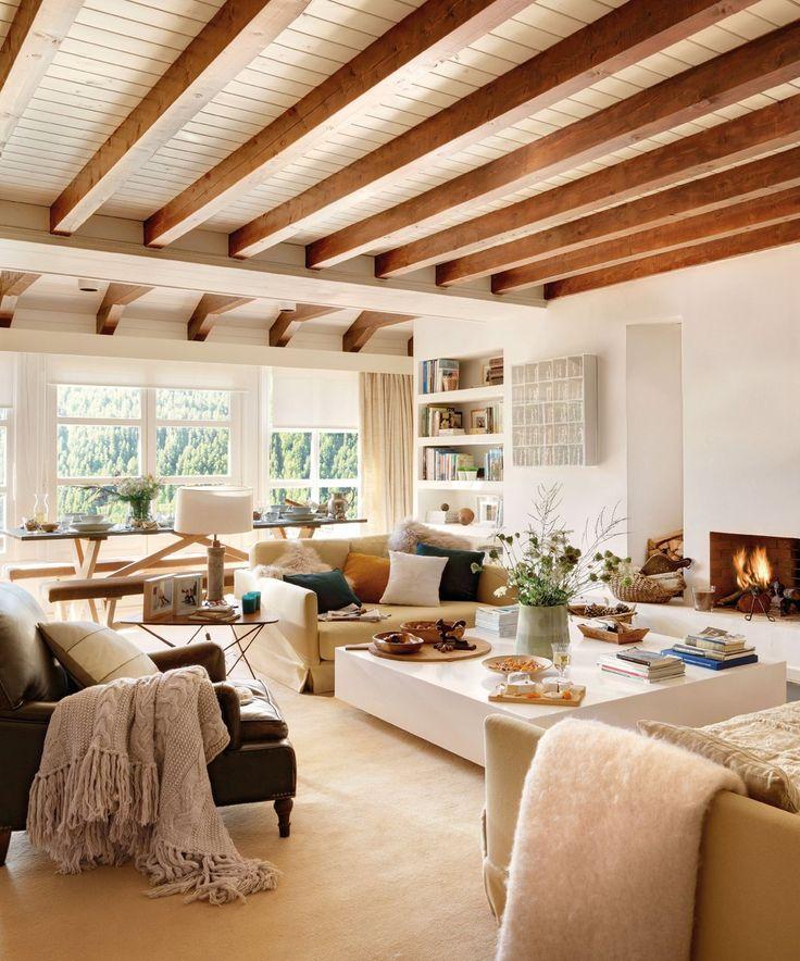 Más de 1000 ideas sobre vigas de techo pintadas en pinterest ...