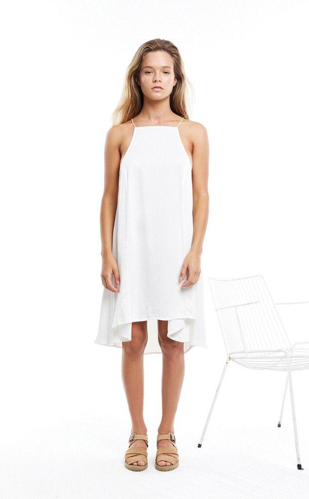 ZULU & ZEPHYR - White Skylight Dress