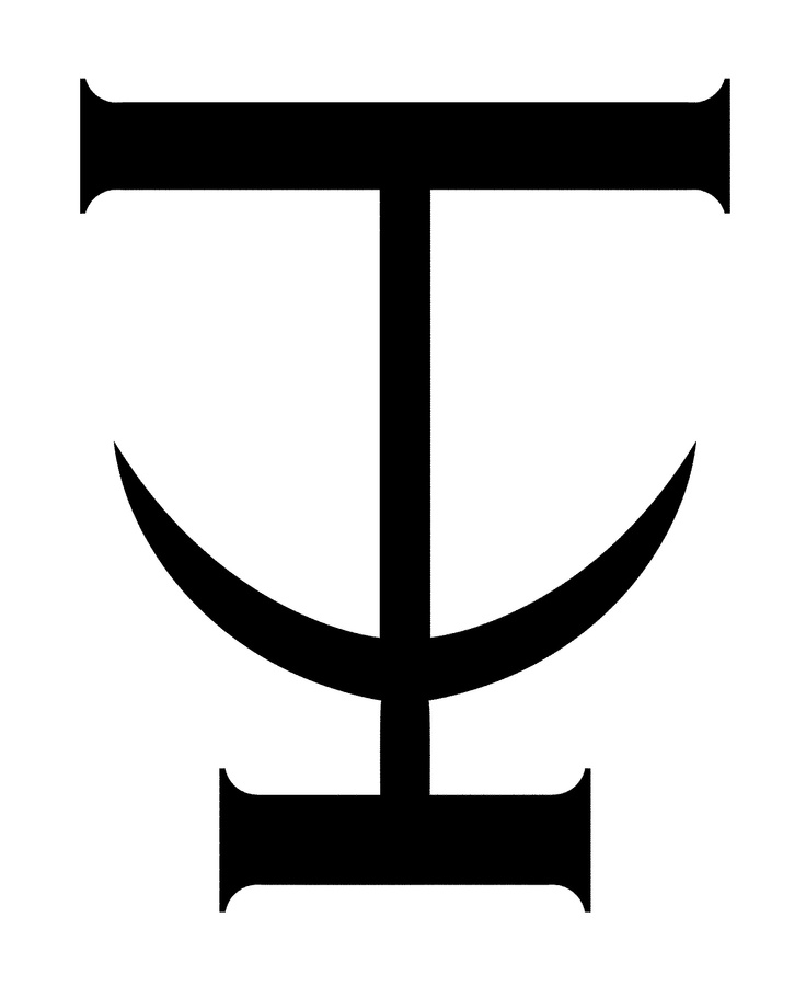 Scion is the fictional republic of 'The Bone Season'. Their symbol, the anchor, was inspired by an ancient Nigerian language system called Nsibidi. The glyph which provided the basis for the anchor, 'ójȯ', conveys fear.