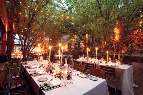 Advantages Of The Outdoor Wedding Reception: New York Wedding Guide