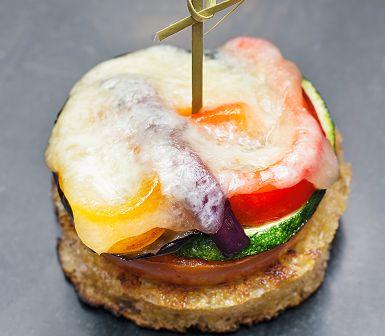 Recept: Pintxos med grönsaker och manchego