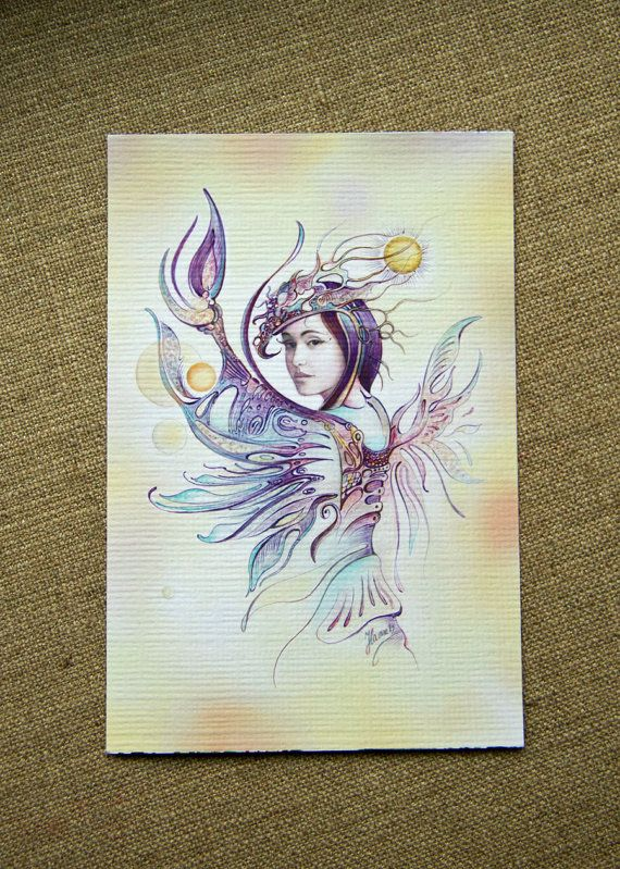 """THE CANCER"" - Protective Angel for Zodiac Sign ... for those born 22 June -22 July"