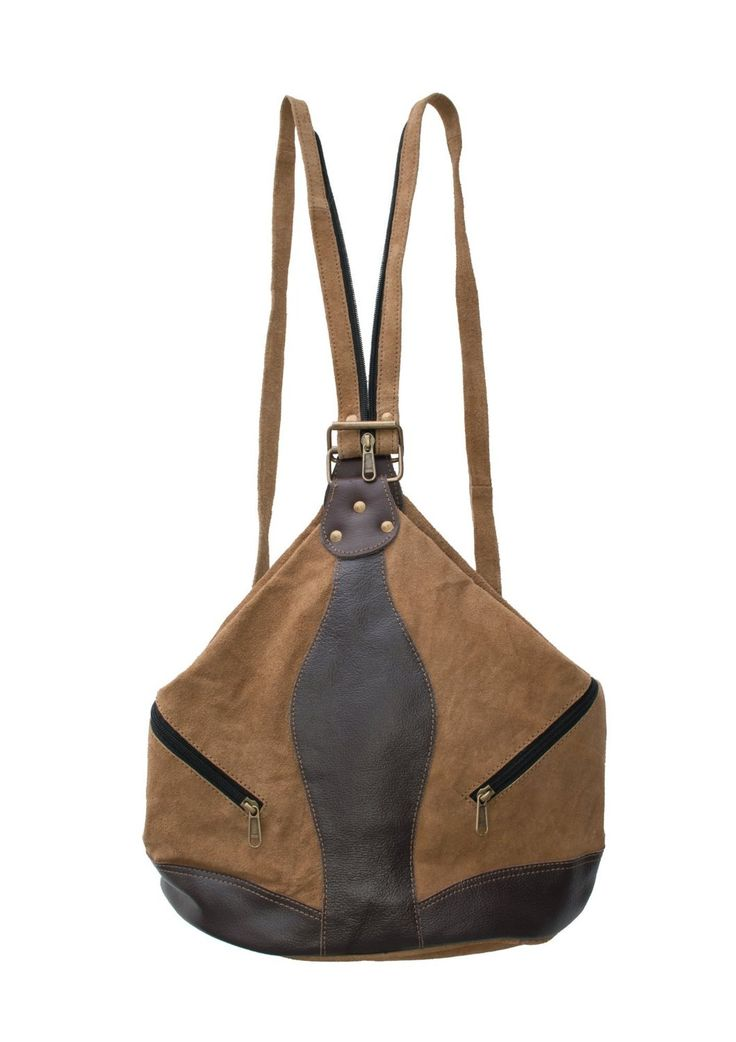 echt wildleder 2 in 1 rucksack cecee bags. Black Bedroom Furniture Sets. Home Design Ideas