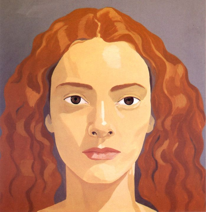 alex katz portraits - Google Search