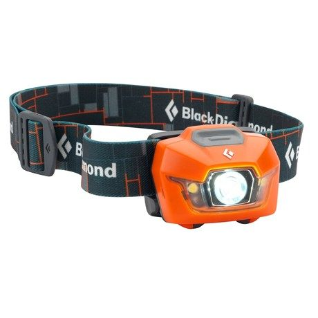 Black Diamond Equipment Storm Headlamp - Waterproof in Mango $40
