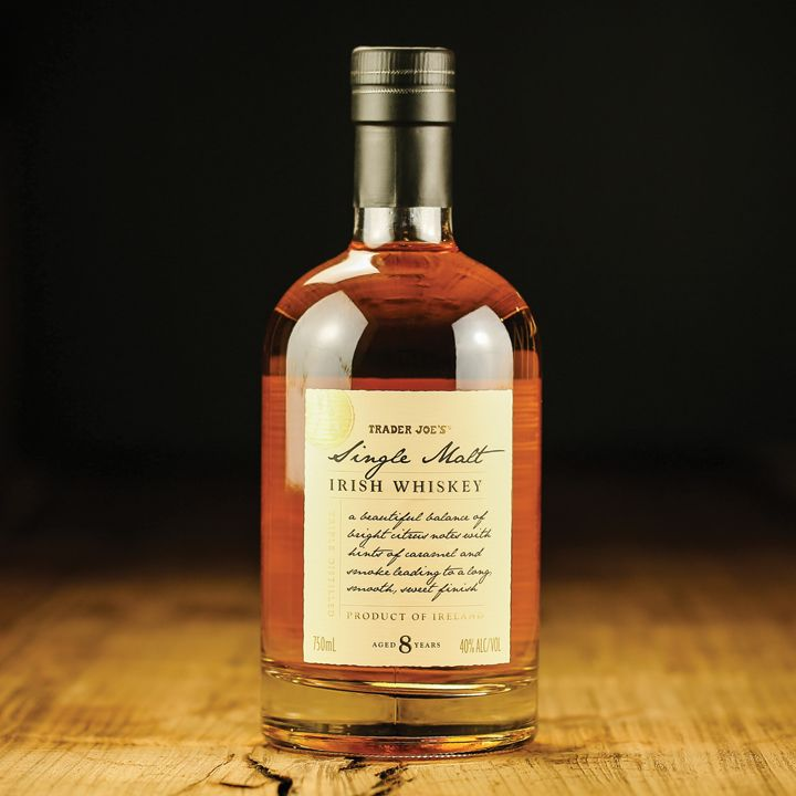 "TRADER  JOE'S SINGLE MALT WHISKEY - Our experts say it's easy to drink and ""actually kind of dangerous."