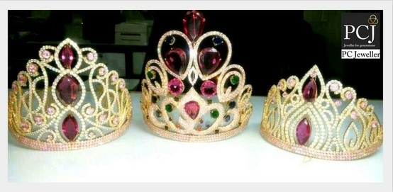 After wearing the winners crown beautifully designed by PC Jeweller, our new Miss India will surely look & feel like a princess.