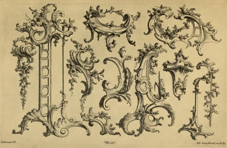 Rococo design elements rococo architecture decoration for Baroque architecture elements