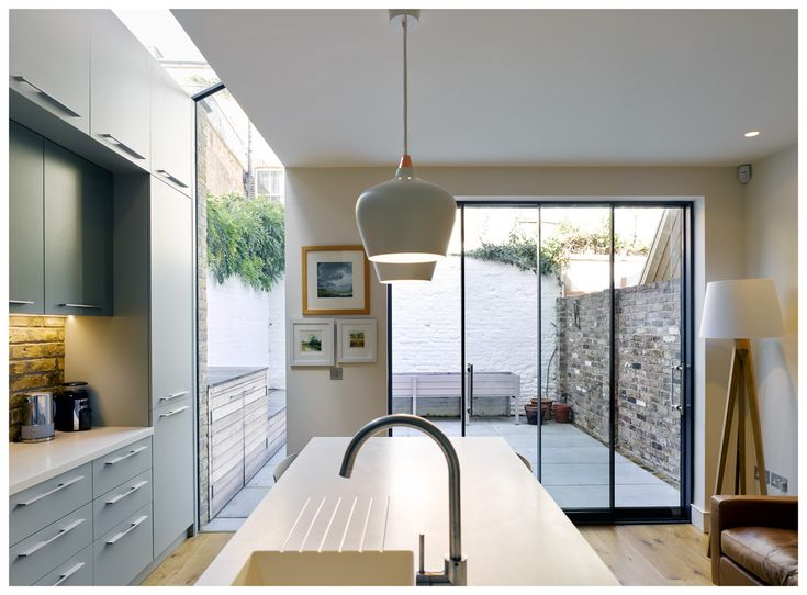 Kitchen • Glass • Extension • Ruvigny Gardens • Putney • London • Syte Architects • 2017
