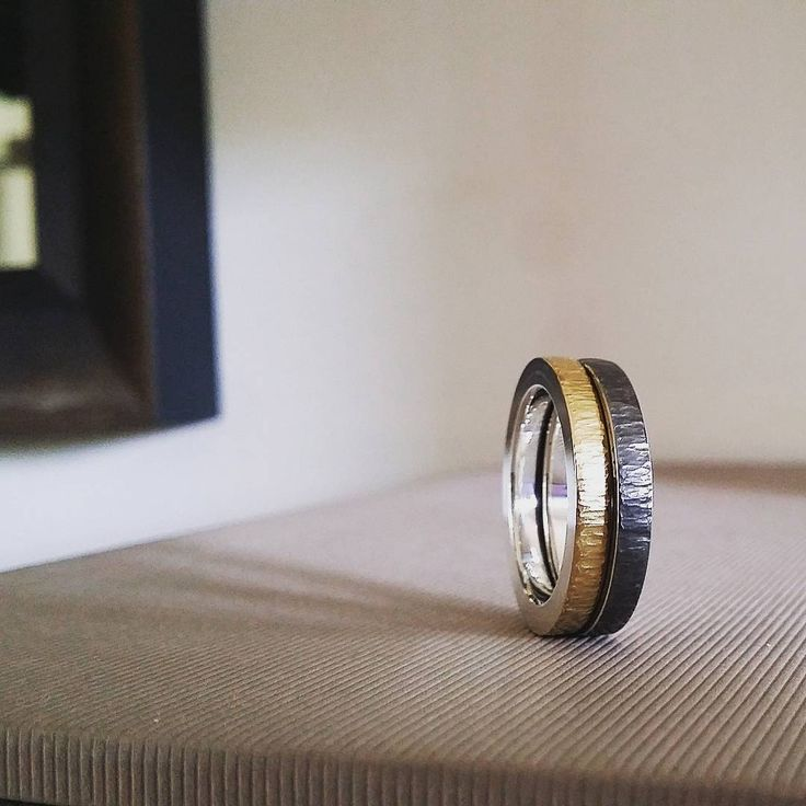 "64 Likes, 3 Comments - Britta Brand (@brittabrand) on Instagram: ""Oxidised goes better with fine gold, non? . . . #bijoux #jewellery #schmuck #jewelry…"""