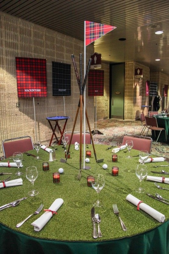 Best 20 golf centerpieces ideas on pinterest for Golf centerpiece ideas