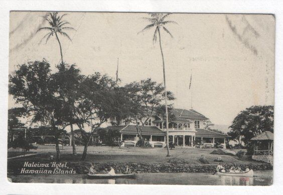 Old postcard Hawaii Hotel view #276 • PicClick