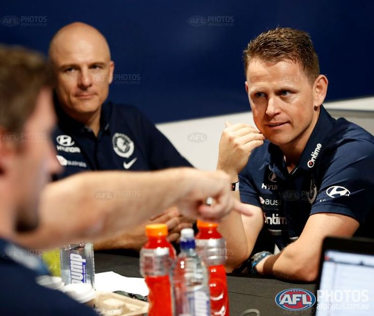 Brendon Bolton and the CFC team. AFL draft 2017