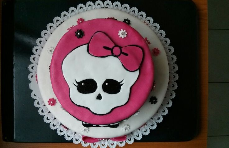 My MonsterHight cake