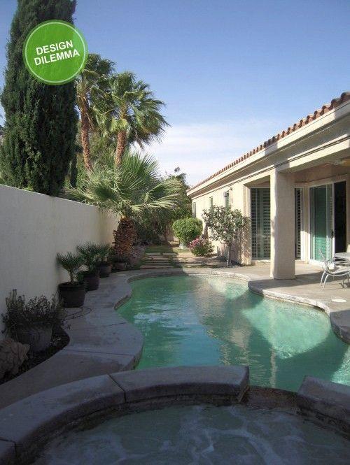 Backyard pool.