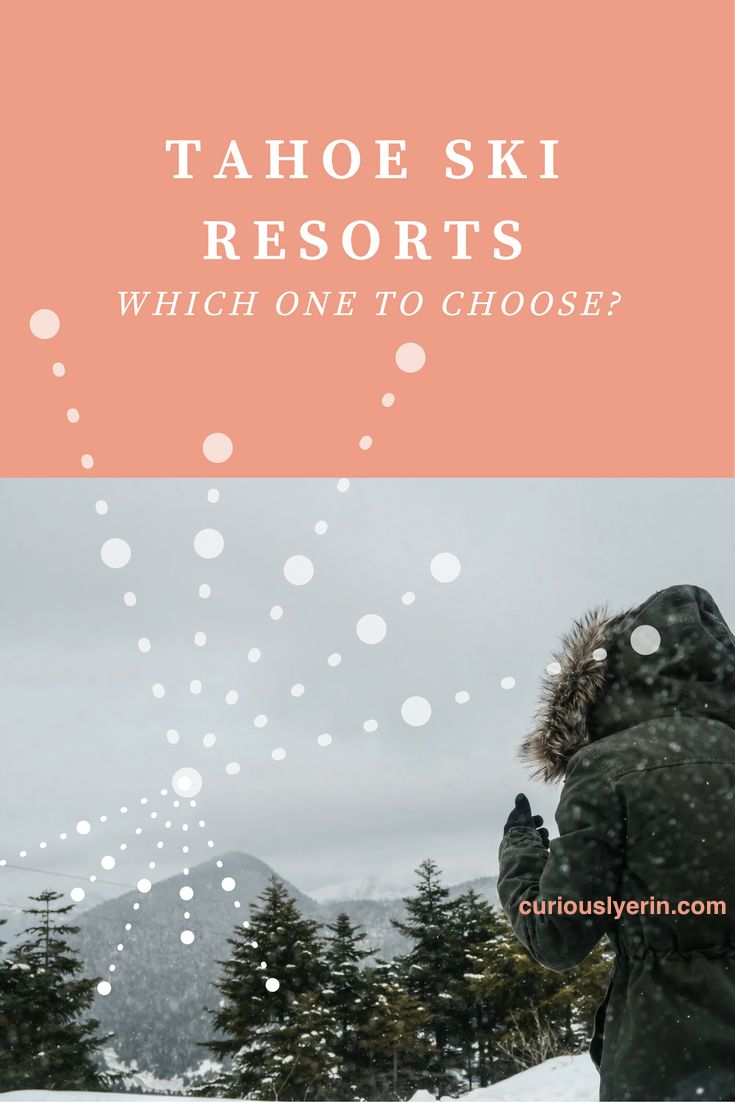 With so much snow in Lake Tahoe currently, it's time to plan your winter getaway. Only there are so many resorts around the area, how do you know which one is right for you? Click to find out.