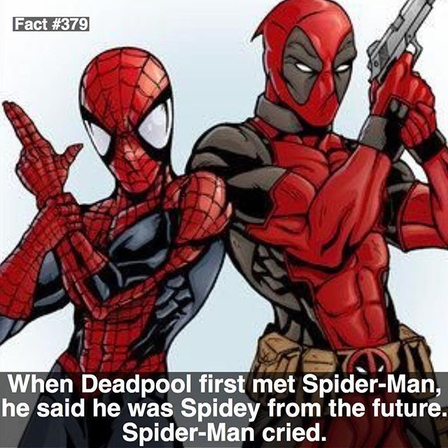 The most interesting facts in Marvel Universe. #marvel #deadpool #spiderman…