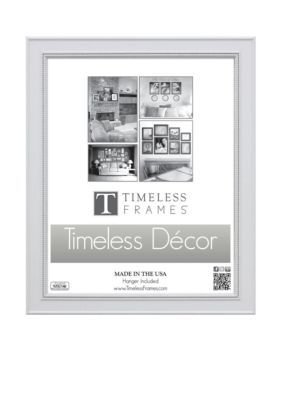 Timeless Frames  Stockton White 16x20 Frame - Online Only