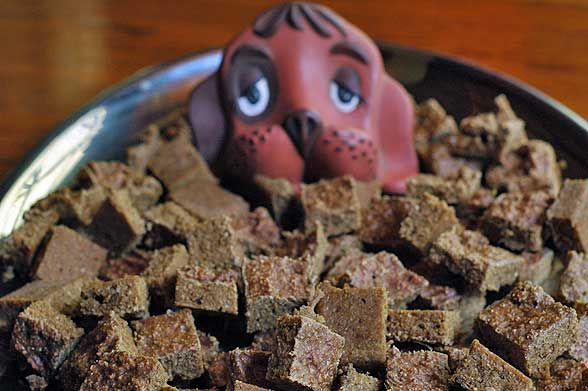 It's been a while since I made liver treats for Flash.  I remember it being the grossest thing I've ever done, but I think I'm ready to try again.  I'll probably regret this...