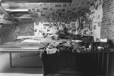 Doris Lasch/ Ursula Ponn, Untitled, 2003, b/w photograph, baryt paper on aluminium, 120 x 178cm. Courtesy the artists.