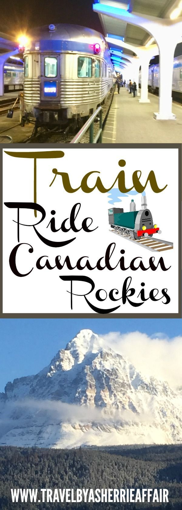 Travel by train through the beautiful winter wonderland of the Canadian Rockies by train! This was part of our Mother-Daughter trip together.   #train #Canadianrockies #Canada #Mountians #trainride #winter #snow #winterwonderland #explore #experience #wintertime #video #photos