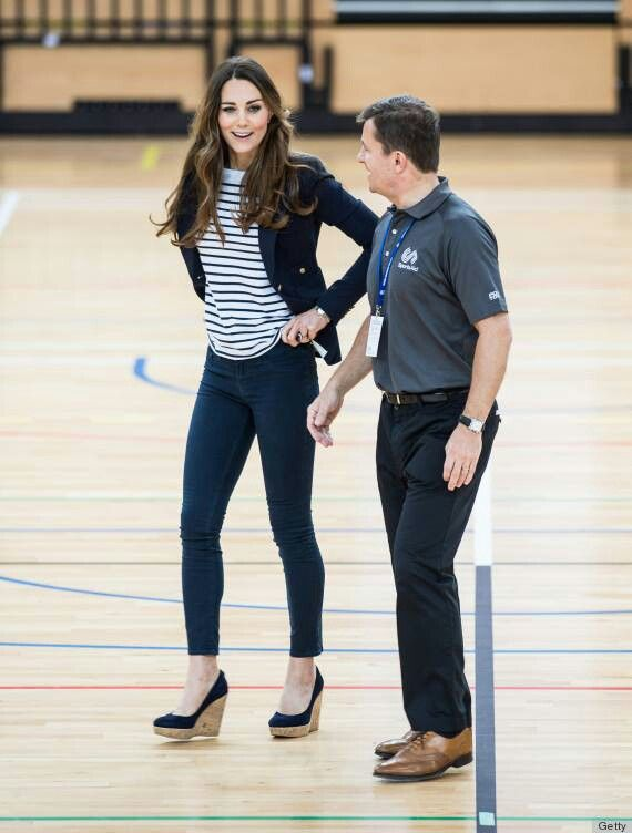 yellow dress kate middleton volleyball