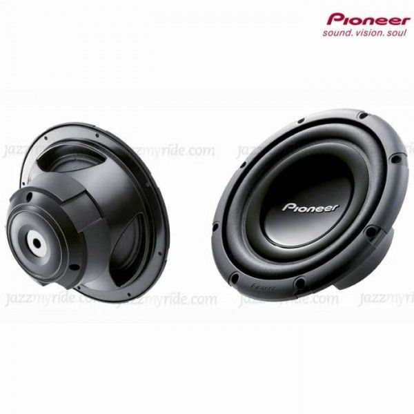 #Pioneer TS W303R #Jazzmyride Pioneer TS W303R Component Subwoofer. Features -250 Watts Nominal Power4-Ohm Single Voice Coil DesignRecommended Enclosure Use: 0.85 ~ 1.75 Cubic Feet