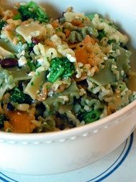Broccoli Feta Pasta Salad.