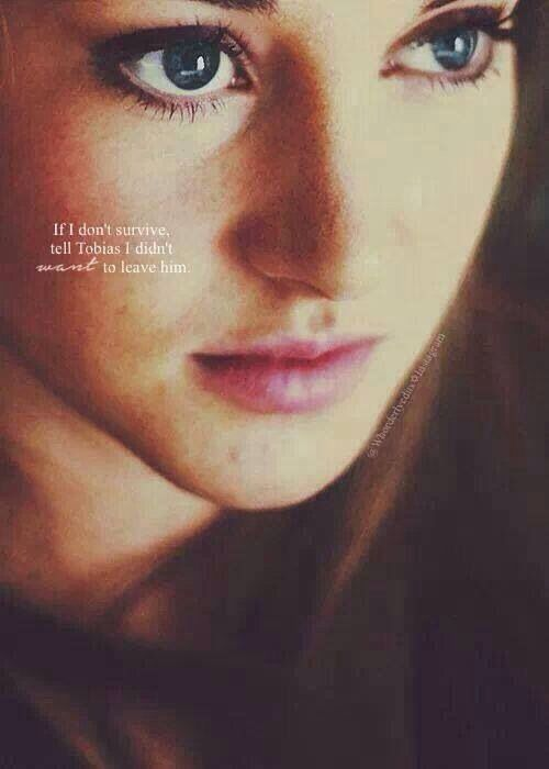 Tris Prior, Allegiant...she died a brave death. She will forever live on! She died as she was born, brave.