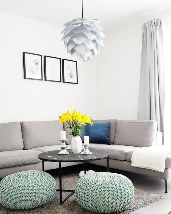 Wandfarbe Mint Kombinieren. Umstyling Neue Farbe Im