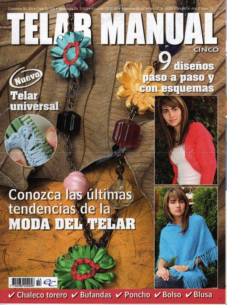 Revistas de Manualidades Para Descargar: Telar manual N° 14