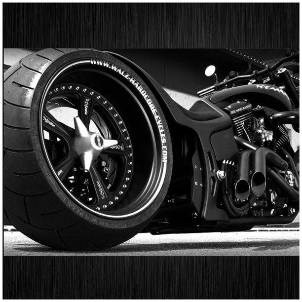 Custom Hardcore Cycles Motorcycle