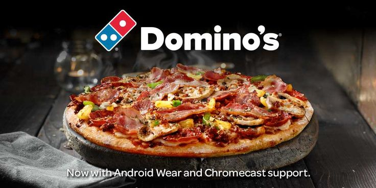 You can now track your Dominos Pizza delivery on Chromecast and Android Wear.  Dominos pizza has been at the forefront when it comes to giving users better ways to order pizza, their Android app beat every other supplier to market and their Pizza Tracker is a nifty innovation in and of itself. Now you can track your pizza delivery on your Chromecast and on Android Wear.