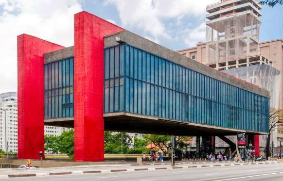 Primeiramente instalado na rua 7 de Abril, no centro da cidade, em 1968 o museu foi transferido para... - Reprodução