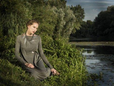 "Katarina Halasova Fashion Design / Press&Editorials / 11/13 ""Zvodna Ofelia"" editorial for Feminity magazine by Oliver FIlan"