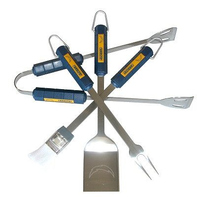 4 Piece Bbq Set Los Angeles Chargers - 78119