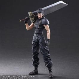 Zack Play Arts Kai Action Figure -- Crisis Core: Final Fantasy VII