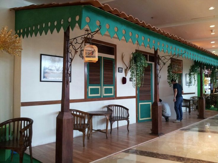 Betawi's traditional house at grand indo