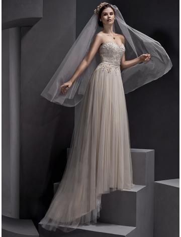 tijdloze tule bruids trouwjurken