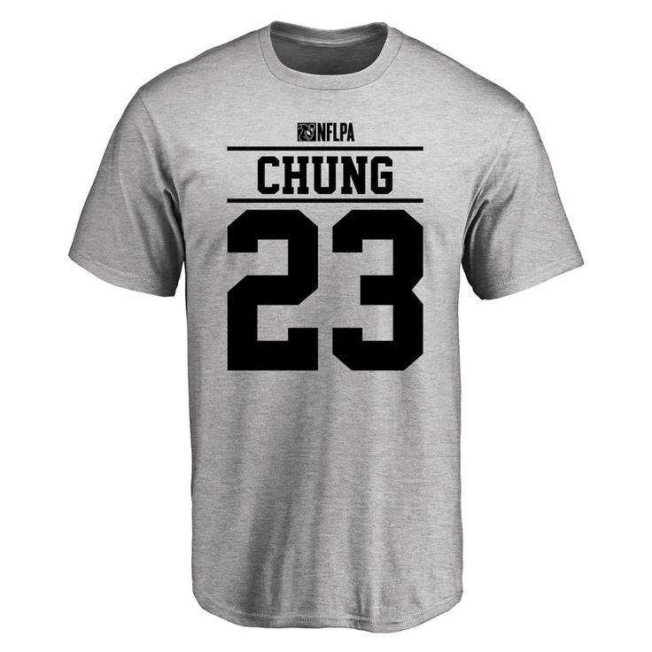 Patrick Chung Player Issued T-Shirt - Ash
