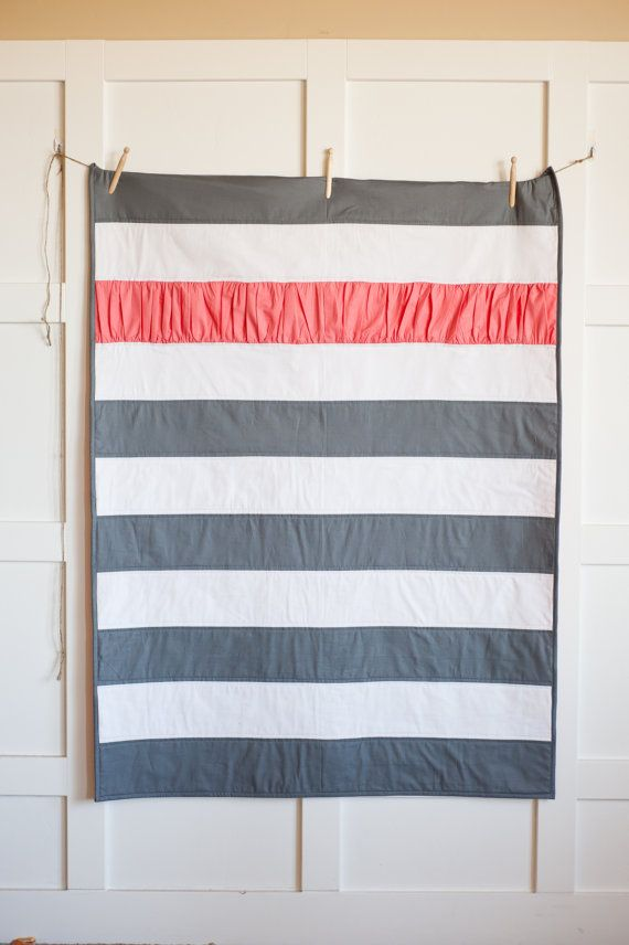 Twins In Stripes Quilt Pattern by TheVintageClothespin on Etsy