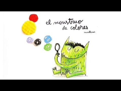 CANCIÓN EL MONSTRUO DE LOS COLORES, J R MUÑOZ - YouTube