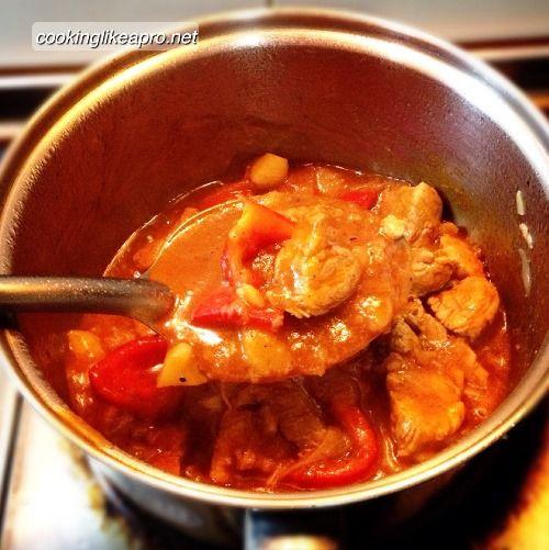 Cooking Pork Mechado (using Basic Ingredients)