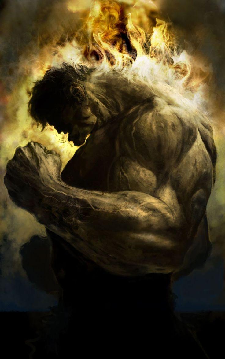 Hulk by Deryl Braun