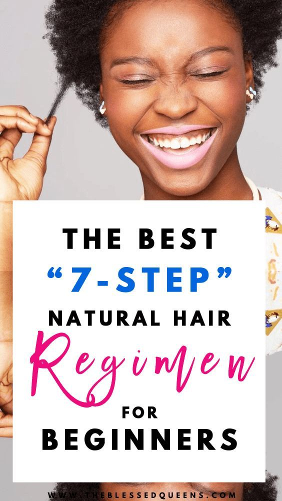 The Best 7-Step natural hair regimen for beginners! Whether you are Type 4 this tips for Black Women will help for growth building regimen! Build your weekly or daily natural hair regimen with protective styles and good products! We don't forget our night hair routine and weekly deep conditioning that helps every curly girl with short twa grow healthy long natural hair!