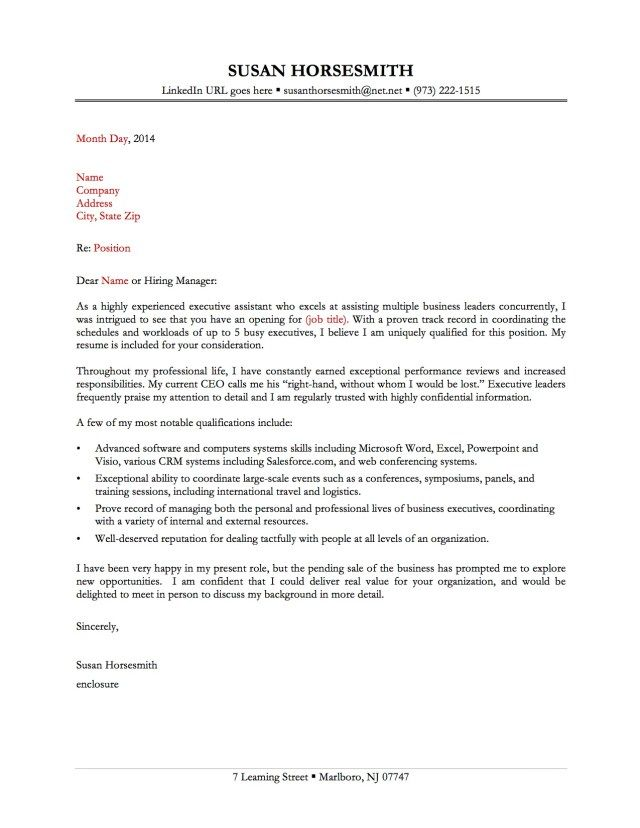 25+ Great Cover Letter Cover Letter Examples For Job Cover