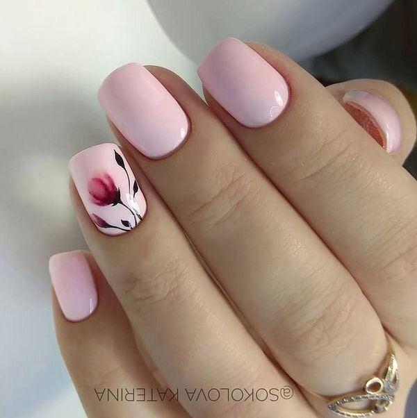 Spring Nails Nails Art Girl Polish Cute Makeup With